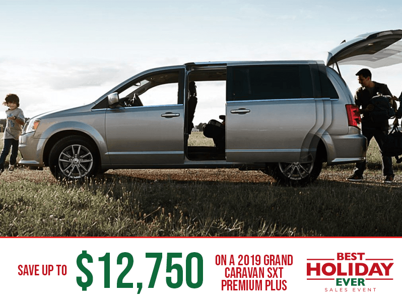 2019 Grand Caravan - Best Holiday Ever Sales Event