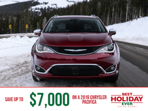 2019 Chrysler Pacifica - Best Holiday Ever Sales Event