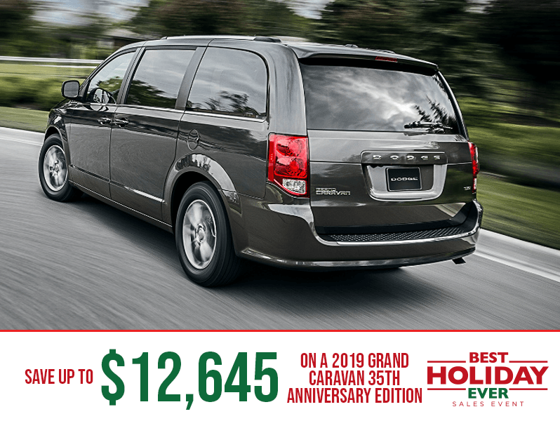 2019 Grand Caravan 35th Edition - Best Holiday Ever Sales Event