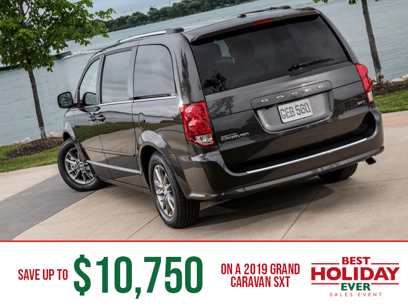 2019 Grand Caravan SXT - Best Holiday Ever Sales Event
