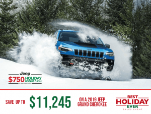2020 Jeep - Best Holiday Ever Sales Event