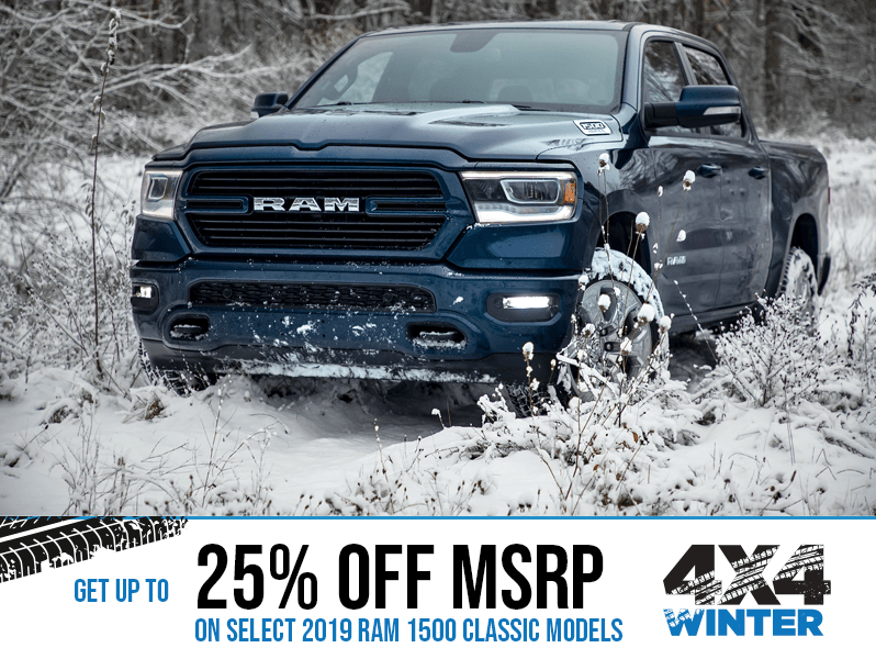 2019 RAM 1500 - Winter 4x4 Event