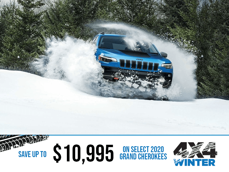 2020 Jeep Grand Cherokee - Winter 4x4 Event