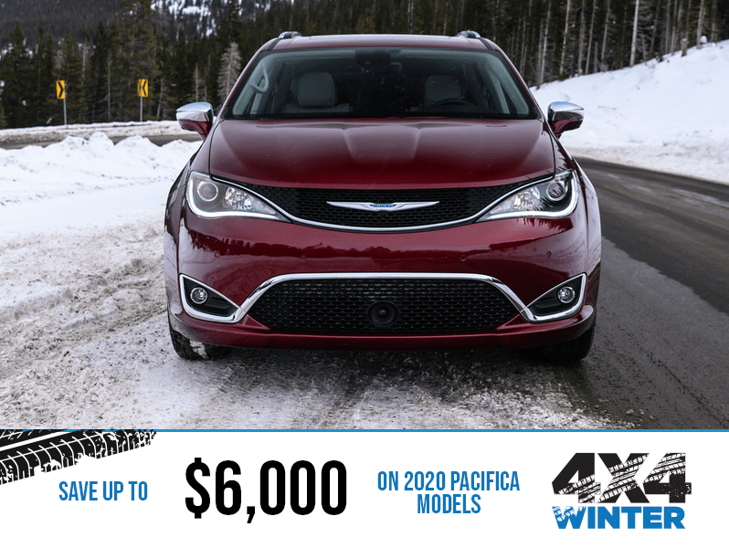 2020 Chrysler Pacifica - Winter 4x4 Event